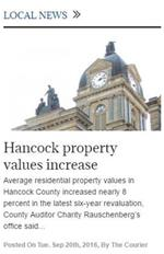 TheCourier Hancock County Auditor News